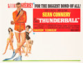 "Movie Posters:James Bond, Thunderball (United Artists, 1965). Subway (45"" X 59.5"").. ..."