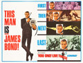 """Movie Posters:James Bond, You Only Live Twice (United Artists, 1967). Subway (45"""" X 59.5"""") Final Advance.. ..."""