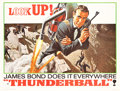 "Movie Posters:James Bond, Thunderball (United Artists, 1965). Subway (45"" X 59"") Advance....."