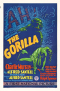 "Movie Posters:Mystery, The Gorilla (First National, 1927). Flat-Folded One Sheet (27"" X41"").. ..."