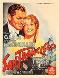 "Movie Posters:Romance, San Francisco (MGM, 1936). French Grande (47"" X 62.5"").. ..."