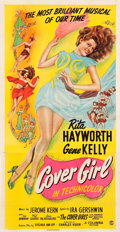 "Movie Posters:Musical, Cover Girl (Columbia, 1944). Three Sheet (41.25"" X 79"").. ..."