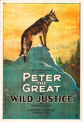 "Movie Posters:Adventure, Wild Justice (United Artists, 1925). One Sheet (28"" X 41"").. ..."