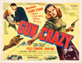 "Movie Posters:Film Noir, Gun Crazy (United Artists, 1949). Half Sheet (22"" X 28"") YellowStyle.. ..."