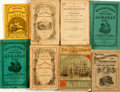 Books:Americana & American History, [Almanacs]. Group of Eight Almanacs, Catalogs and Annual Registers.Various publishers, 1858 - 1932. ... (Total: 8 Items)
