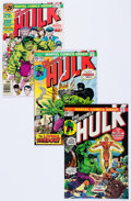 Bronze Age (1970-1979):Superhero, The Incredible Hulk Group of 52 (Marvel, 1974-76) Condition:Average NM-.... (Total: 52 Comic Books)