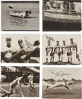Baseball Collectibles:Photos, Signed and Mounted Photographs Lot of 12 from The Brooks RobinsonCollection....