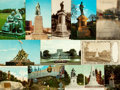 Miscellaneous:Postcards, [Postcards]. Group of Eleven Postcards Depicting Various Monumentsand Memorials. Various publishers and dates, circa 1913 -...