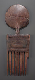 Tribal Art, An Ashanti Comb...