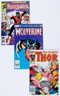 Modern Age (1980-Present):Miscellaneous, Marvel Bronze and Modern Age Comics Group of 33 (Marvel, 1975-89) Condition: Average NM-.... (Total: 33 Comic Books)