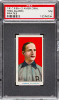 """Baseball Cards:Singles (Pre-1930), 1910 E90-2 American Caramel Fred Clarke PSA NM 7 - The Only E90-2""""NM"""" Card on the PSA Census! ..."""