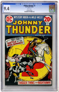 Bronze Age (1970-1979):Western, Johnny Thunder #2 (DC, 1973) CGC NM 9.4 White pages....