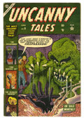 Golden Age (1938-1955):Horror, Uncanny Tales #9 (Atlas, 1953) Condition: FN-. Reed Crandall art.Overstreet 2005 FN 6.0 value = $117....
