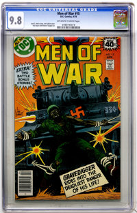 Men of War #15 (DC, 1979) CGC NM/MT 9.8 Off-white to white pages