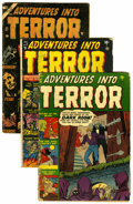 Golden Age (1938-1955):Horror, Adventures Into Terror Group (Atlas, 1951-54).... (Total: 3 ComicBooks)