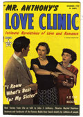 Golden Age (1938-1955):Romance, Mr. Anthony's Love Clinic #2 (Hillman Publications, 1949)Condition: FN+. Photo cover. Overstreet 2005 FN 6.0 value = $27;V...