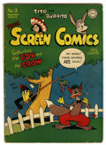 Golden Age (1938-1955):Funny Animal, Real Screen Comics #2 (DC, 1945) Condition: VG....