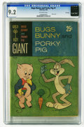 Silver Age (1956-1969):Cartoon Character, Bugs Bunny and Porky Pig #1 File Copy (Gold Key, 1965) CGC NM- 9.2 Off-white pages. Paper cover. Overstreet 2005 NM- 9.2 val...