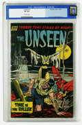 Golden Age (1938-1955):Horror, The Unseen #7 (Standard, 1952) CGC VF 8.0 Off-white pages. JackKatz and Mike Sekowsky art. Overstreet 2005 VF 8.0 value = $...