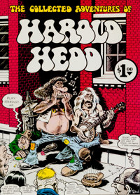Harold Hedd, The Collected Adventures Of #1 Oversized First Printing (Georgia Strait, 1972) Condition: NM-