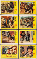 """Movie Posters:War, Kings Go Forth & Others Lot (United Artists, 1958). Lobby CardSet of 8 (11"""" X 14"""") and One Sheets (2) (11"""" X 14""""). War.. ...(Total: 10 Items)"""
