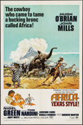 "Movie Posters:Adventure, Africa - Texas Style! & Other Lot (Paramount, 1967). One Sheets(2) (27"" X 41"") and Lobby Cards (5) (11"" X 14""). Adventure....(Total: 7 Items)"