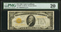 Small Size:Gold Certificates, Fr. 2400* $10 1928 Gold Certificate Star Note. PMG Very Fine 20.. ...