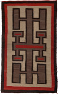 American Indian Art:Weavings, A Navajo Regional Rug . c. 1935...