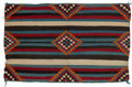 American Indian Art:Weavings, A Navajo Child's Size Chief's Blanket. c. 1940...