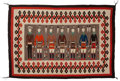 American Indian Art:Weavings, A Navajo Yei Rug . c. 1950...
