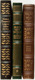 Books:Fine Bindings & Library Sets, [Fine Binding & Library Sets]. [Genre Literature]. Group of Three Titles. The Easton Press, [various dates].... (Total: 3 Items)