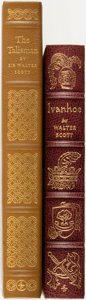 Books:Fine Bindings & Library Sets, Sir Walter Scott. Ivanhoe. [together with:] The Talisman. The Easton Press, 1976 and 1977.... (Total: 2 Items)