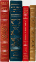 Books:Fine Bindings & Library Sets, [Fine Binding & Library Sets]. [American Literature]. Group of Four Titles. The Franklin Library, [various dates].... (Total: 4 Items)