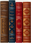 Books:Fine Bindings & Library Sets, [Fine Binding & Library Sets]. [American Literature]. Group ofFour Titles. The Franklin Library, [various dates]. ... (Total: 4Items)