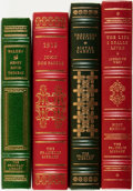 Books:Fine Bindings & Library Sets, [Fine Binding & Library Sets]. [American Literature]. Group of Four Titles. The Franklin Library, [various dates]. ... (Total: 4 Items)