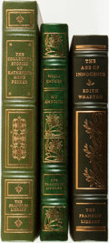 Books:Fine Bindings & Library Sets, [Fine Binding & Library Sets]. Group of Three Titles. The Franklin Library, [various dates].... (Total: 3 Items)