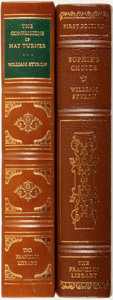 Books:Fine Bindings & Library Sets, William Styron. Pair of Titles, One of Which is SIGNED. Franklin Center: The Franklin Library, 1979.... (Total: 2 Items)