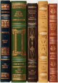 Books:Fine Bindings & Library Sets, [Fine Binding & Library Sets]. Group of Five Titles. The Franklin Library, [various dates]. ... (Total: 5 Items)