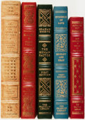Books:Fine Bindings & Library Sets, [Fine Binding & Library Sets]. [American Literature]. Group ofFive Titles. The Franklin Library, [various dates]. ... (Total: 5Items)
