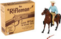 "Non-Sport Cards:Other, Vintage Hartland - ""The ""Rifleman"" With Original Box. ..."