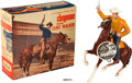 "Non-Sport Cards:Other, Vintage Hartland - Clint Walker from ""Cheyenne"" With Box & NameTag! ..."