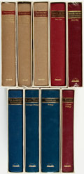 Books:Americana & American History, [Library of America]. Group of Nine Books. [Des Moines, IA: TheLibrary of America, circa 1993 - 2001]. . ... (Total: 9 Items)