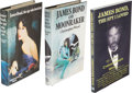 Books:Fiction, [Ian Fleming, association]. Christopher Wood. James Bond, theSpy Who Loved Me [and:] James Bond and Moonrak... (Total: 3Items)