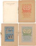 Books:Books about Books, [Bookplates]. Collection of American Society of BookplateCollectors and Designers Yearbooks. Washington D.C.: The Ameri...(Total: 72 Items)