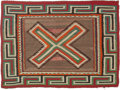 American Indian Art:Weavings, A Navajo Single Saddle Blanket. c. 1925. ...