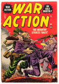 Golden Age (1938-1955):War, War Action #13 (Atlas, 1953) Condition: VG-....