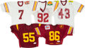 Football Collectibles:Uniforms, 1980s-1990s USC Trojans Game Worn Jerseys Lot of 5 - Kindler Collection....