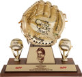 "Baseball Collectibles:Others, 1991 Roberto Clemente ""Gold Glove Hall of Fame"" Award...."