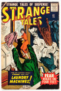 Silver Age (1956-1969):Horror, Strange Tales #61 (Atlas, 1958) Condition: VG-....