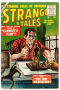 Golden Age (1938-1955):Science Fiction, Strange Tales #39 (Atlas, 1955) Condition: VG/FN....